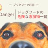 ドッグフードの危険な添加物一覧