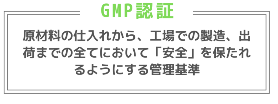 GMP認証 解説
